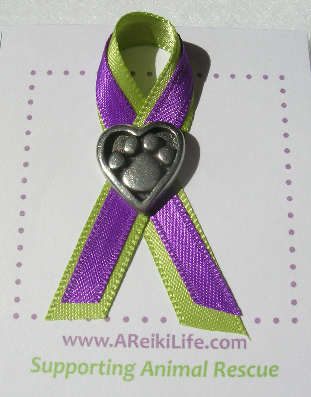 Animal Rescue Awareness Pin